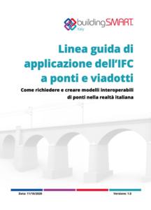 immagine di copertina della linea guida bridge per l'OpenBIM